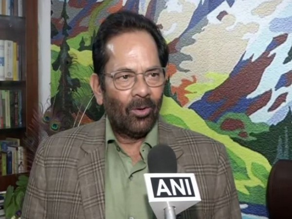 Congress is 'history-sheeter' party, politicises national security: Mukhtar Abbas Naqvi