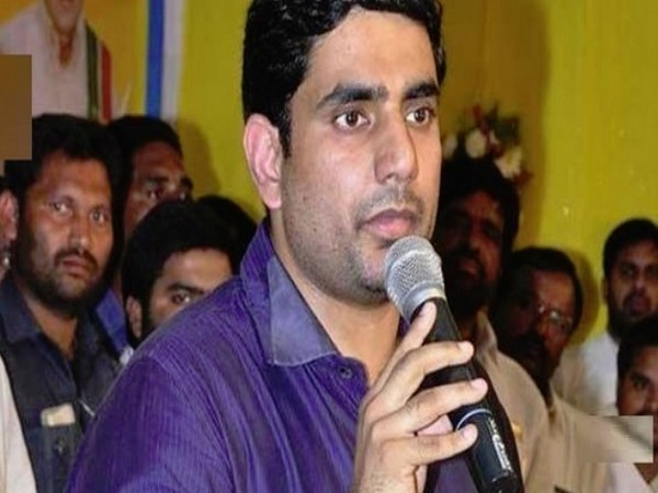 File Pic of Andhra Pradesh IT Minister Nara Lokesh