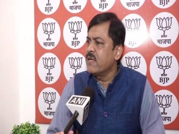 BJP spokesperson GVL Narasimha Rao speaking to ANI in New Delhi on Sunday. Photo/ANI