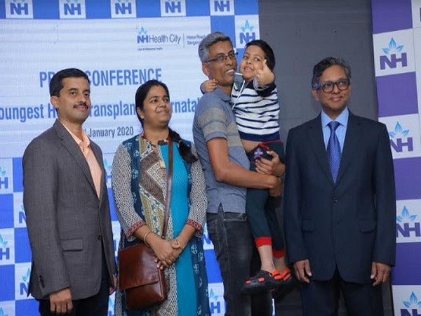 Narayana Health City performs Karnataka's youngest heart transplant