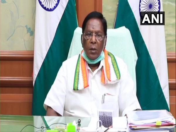 Puducherry Chief Minister V. Narayanasami. File Photo/ ANI
