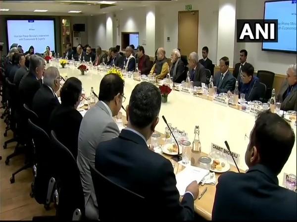 Prime Minister Narendra Modi meets top economists in New Delhi on Thursday.
