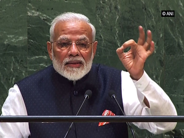 Prime Minister addressing UNGA in New York on Friday.