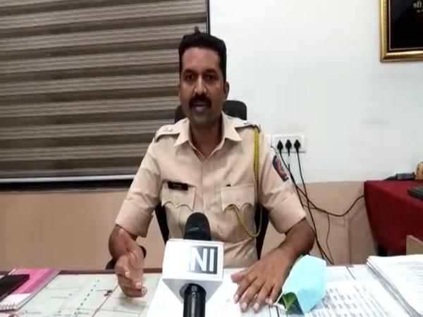 Nashik DCP, Vijay M Kharat (Photo/ANI)