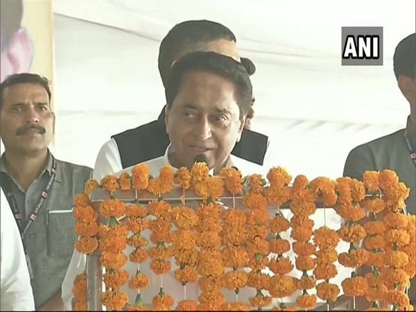 Madhya Pradesh Chief Minister Kamal Nath at an event in Bhopal on Friday.