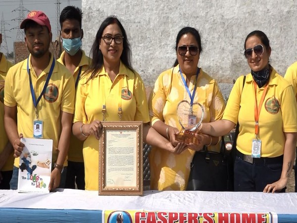 Visual of Casper Home Trust being awarded (Photo/ANI)