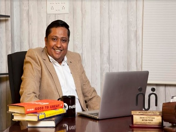 Naveen Valsakumar, CEO of Notion Press