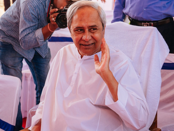 Odisha Chief Minister Naveen Patnaik at an event on Thursday Photo/ANI