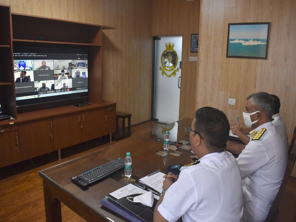 Tri-nation naval exercise held to curb narcotics smuggling.