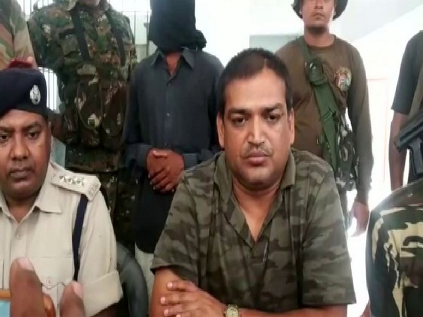 Assistant Superintendent of Police (Nawada), Abhiyan Kumar Alok briefing media reporters on Sunday. Photo/ANI