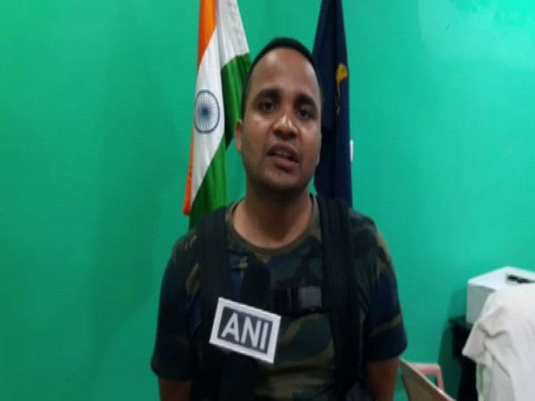 Suraj Singh Parihar, Additional SP (Naxal Operations) speaking to ANI in Dantewada on Tuesday