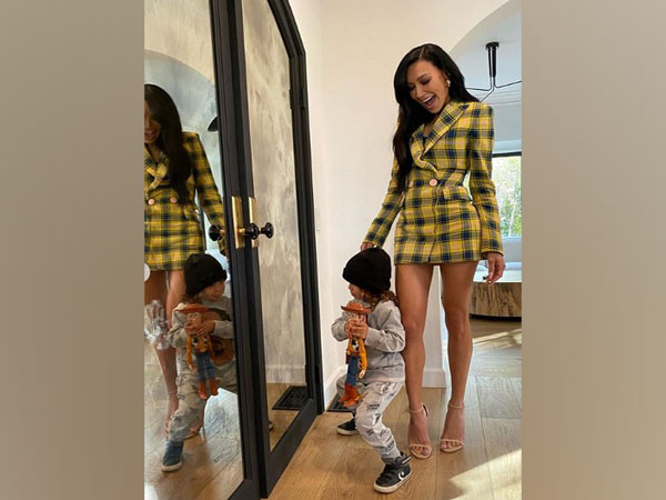 Late actor Naya Rivera with her son (Image source: Instagram)