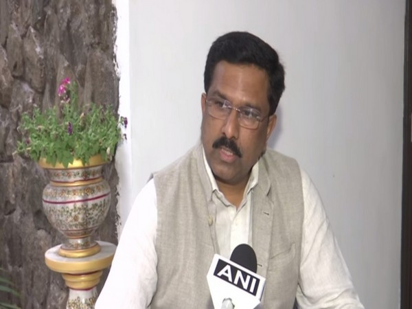 Congress MP Syed Naseer Hussain speaking to ANI in New Delhi on Tuesday. Photo/ANI