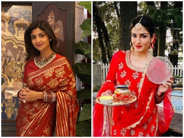 Shilpa Shetty and Raveena Tandon (Image courtesy: Instagram)