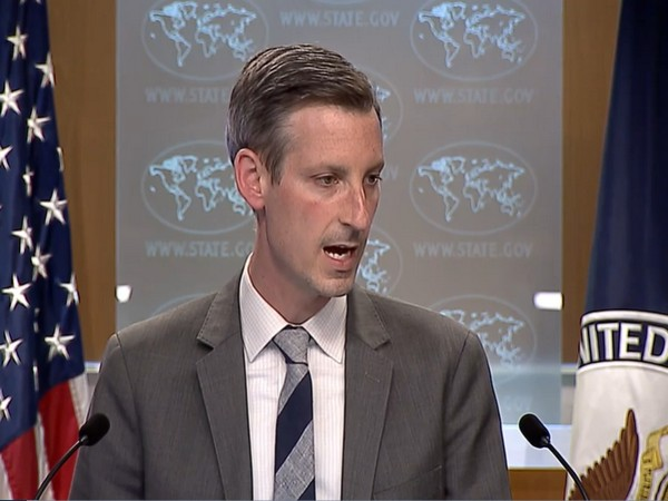 US Department of State spokesperson Ned Price.