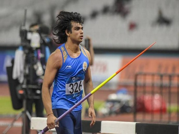 Javelin thrower Neeraj Chopra (Photo/AFI Twitter)