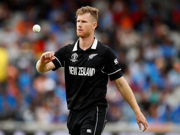 New Zealand all-rounder Jimmy Neesham (file image)