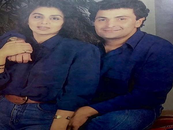 Senior actor Neetu Kapoor with late husband and actor Rishi Kapoor (Image Source: Instagram)