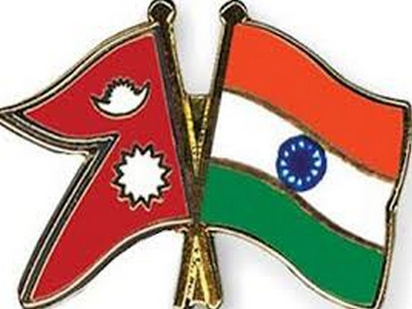 Flags of India and Nepal (Representative Image)
