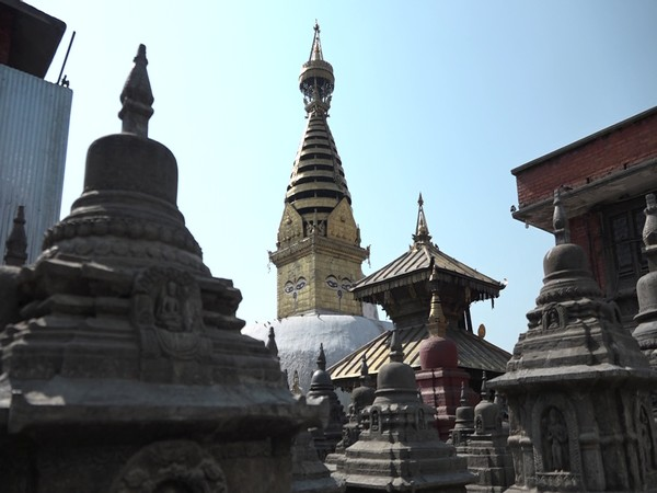 Less footfalls in Buddhist shrine in Kathmandu enlisted in World Heritage Site.