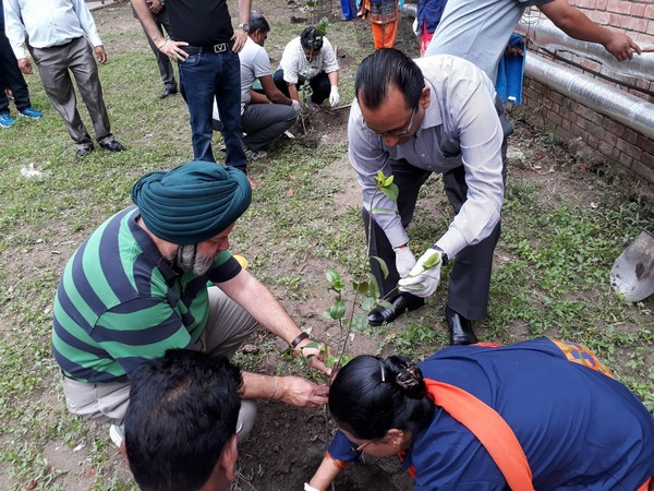 Ambassador Manjeev Singh Puri along with all the Embassy Family actively participated in the event and planted saplings on June 5 (Picture Credits: Indian Embassy in Nepal/ Twitter)