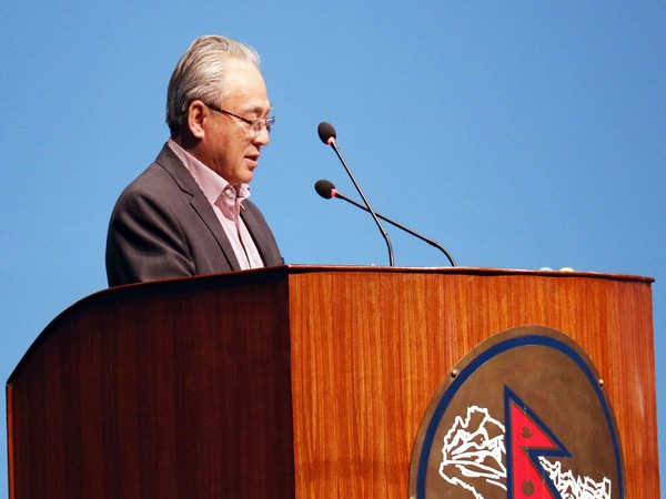 Nepal Home Minister Ram Bahadur Thapa (File pic)