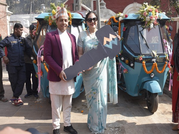 Indian Women's Association hands over two electric vehicles to PADT