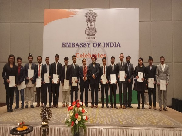 Nepali students awarded with Golden Jubilee scholarships on Wednesday