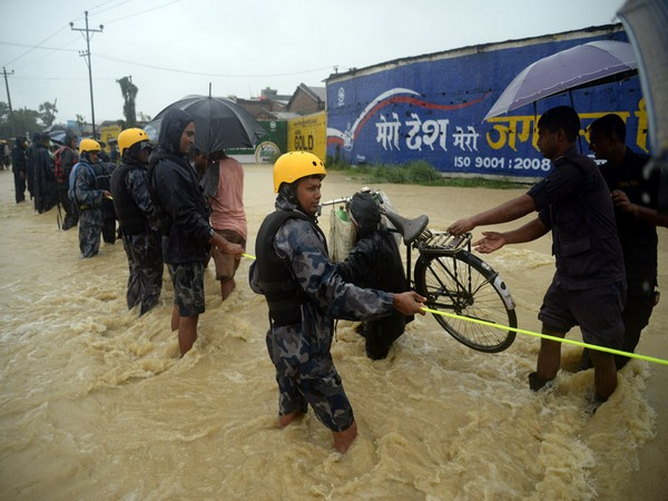 A total of 1,444 people have been rescued from various parts of the country so far, the police said.