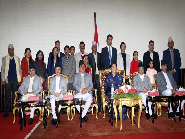 Agni Prasad Sapkota's swearing-in ceremony in Nepali Parliament