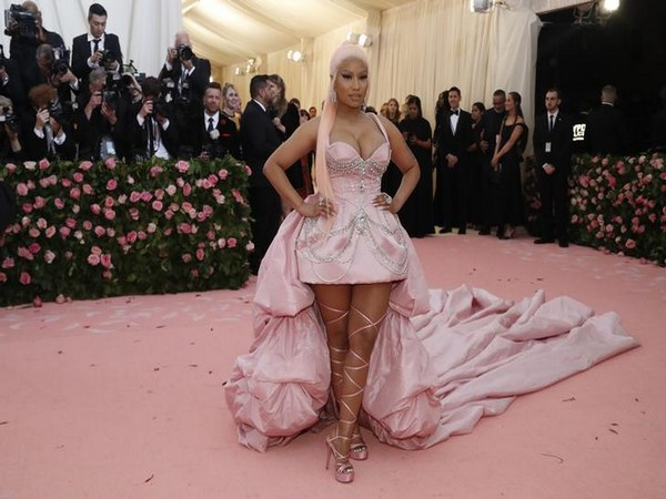 Nicki Minaj at the Metropolitan Museum of Art Costume Institute Gala - Met Gala - Camp: Notes on Fashion - Arrivals - New York City, U.S
