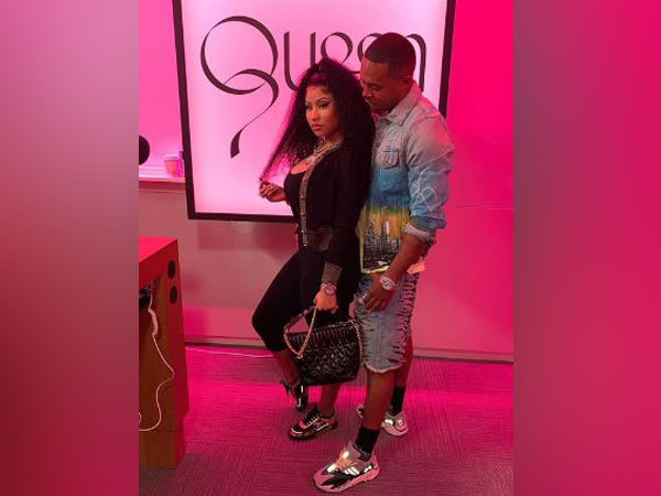 Nicki Minaj with Kenneth Perry