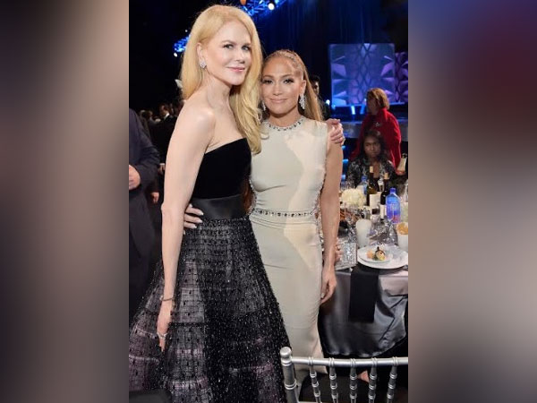 Jennifer Lopez and Nicole Kidman wearing Harry Winston jewellery set in Platinum to 25th Annual Critics' Choice Awards in Los Angeles on January 12th.