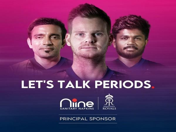 Niine Sanitary Napkins comes on board as principal sponsor for Rajasthan Royals