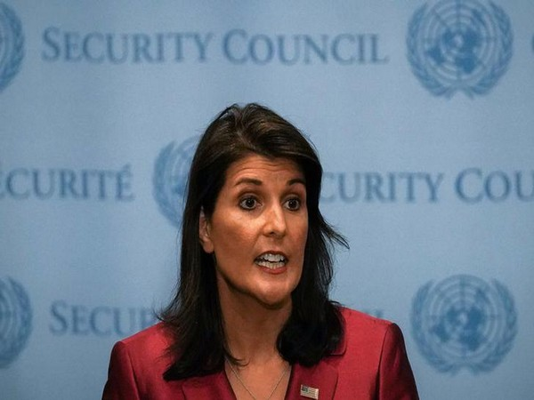 outgoing United States Ambassador to United Nations Nikki Haley (File Photo)