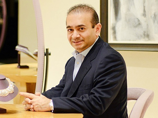 Businessman Nirav Modi, whose bail plea was rejected by a court in London on Wednesday.