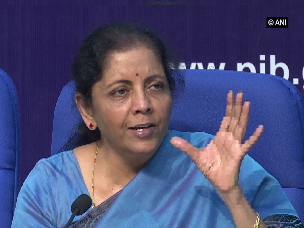 Finance Minister Nirmala Sitharaman. File photo
