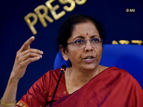 Nirmala Sitharaman [Photo/ANI]