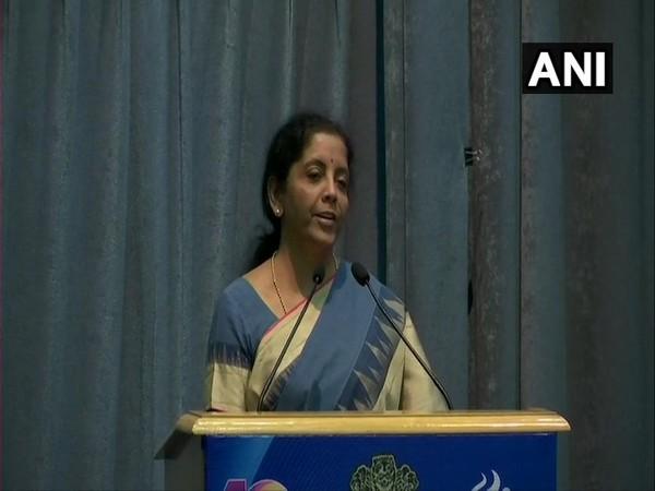Finance Minister Nirmala Sitharaman in New Delhi on Friday (Photo/ANI)