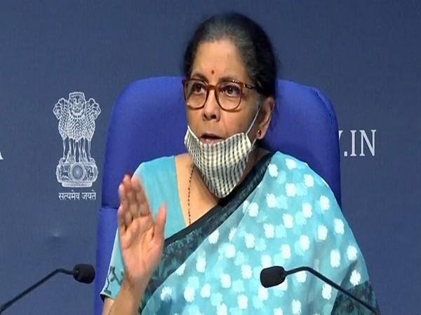 Union Minister for Finance and Corporate Affairs, Nirmala Sitharaman (Photo/ANI)