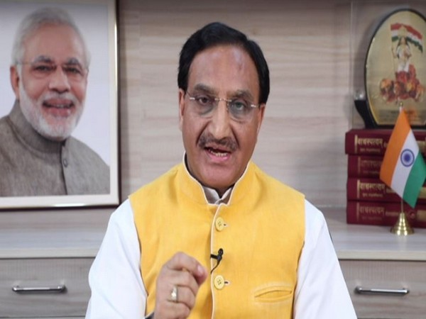 Minister for Human Resource Development Ramesh Pokhriyal Nishank (file photo)