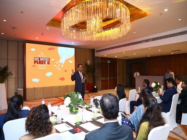Nitesh Gandhi, General Manager, JW Marriott New Delhi talking about the plastic-free journey of the hotel