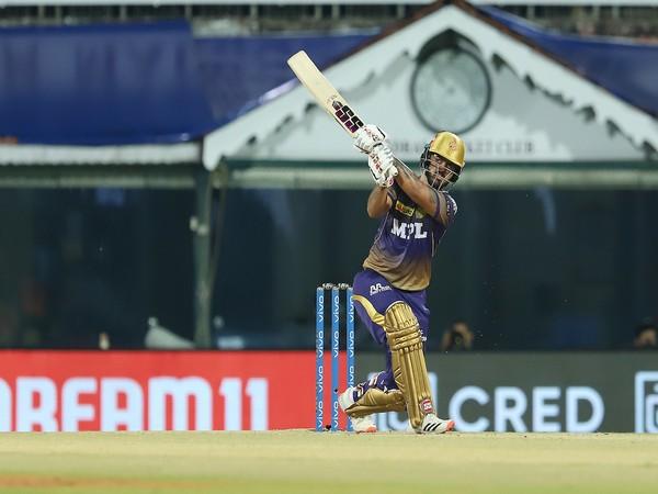 KKR batsman Nitish Rana (Photo/ IPL Twitter)