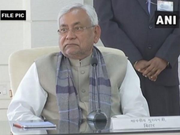 Bihar CM Nitish Kumar [Photo/ANI]