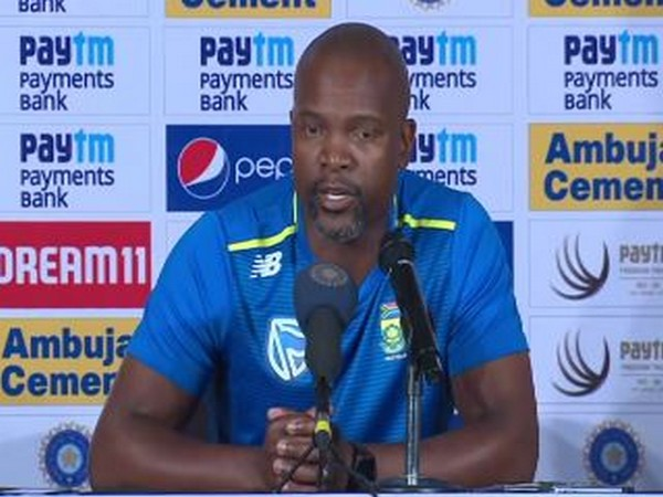 South Africa's assistant coach Enoch Nkwe (File photo)