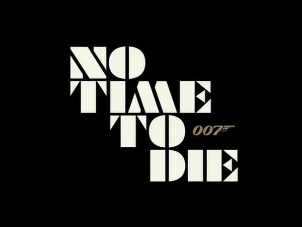 Title poster of the movie 'No Time to Die'