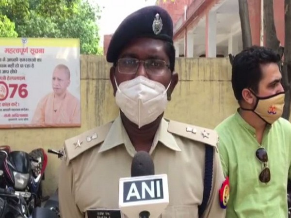 Rajesh S, DCP Noida, speaking to ANI on Tuesday