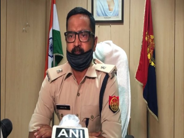 Deputy superintendent of police Ranvijay Singh while speaking to ANI on Saturday. (Photo/ANI)