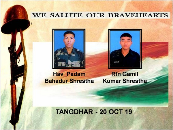 Indian Army paid tributes to soldiers killed in ceasefire violation by Pakistan. (Picture tweeted by Northern Command)