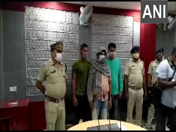 Mayurbhanj Police with the arrested accused. (Photo/ANI)